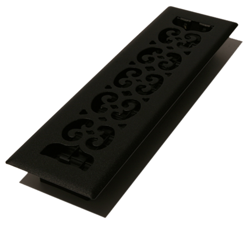 2 X12 Decor Painted Floor Register Cast Iron